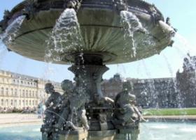 Brunnen im Schlossgarten Stuttgart